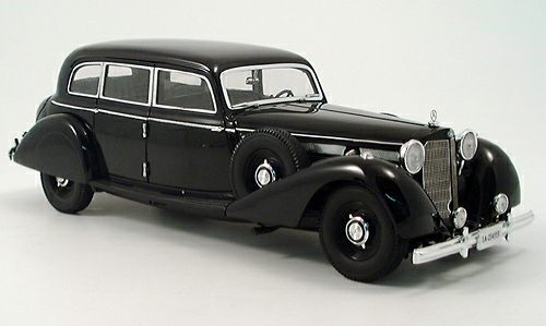 MERCEDES 260D - Gestapo Gangster Car